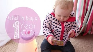 What to buy a 1 year old { Mila - Roses Birthday Gifts}
