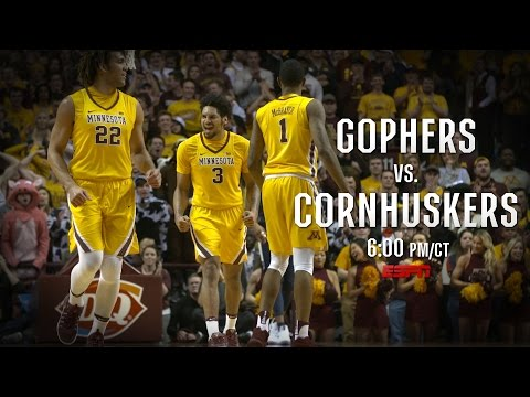 Gopher Basketball: Gophers vs. Nebraska Social Commercial