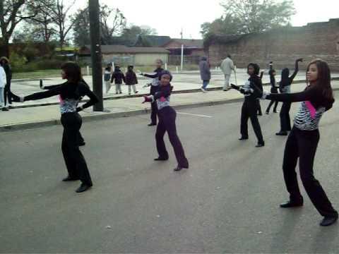 greenwood middle school dancers...