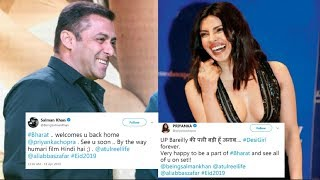 Salman Khan And Priyanka Chopra Trolling Each Other On Twitter Over Bharat Movie 2018