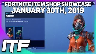 Fortnite Item Shop *NEW* HOT & COLD WRAP AND MAYHEM IS BACK! [January 30th, 2019]