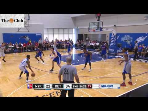 Detroit Pistons vs New York Knicks from Orlando Summer League | Full Highlights (103-78)