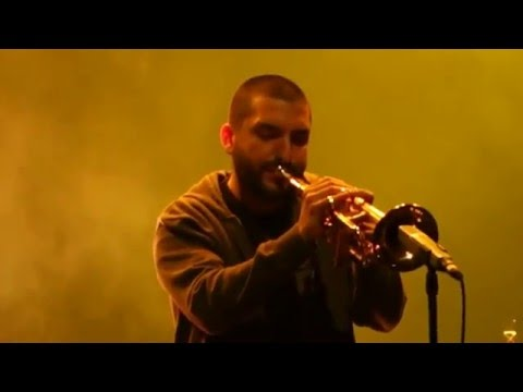 ibrahim maalouf red & black light Brussels 2016