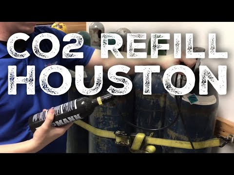 Co2 Refills in Houston, TX - Pro Edge Paintball Store
