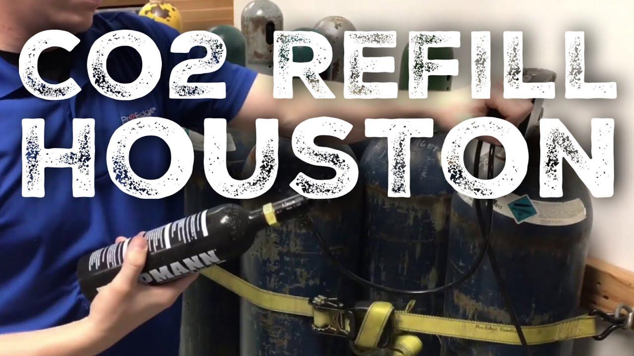 Co2 Refills in Houston, TX - Pro Edge Paintball Store