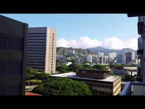 My friends new home downtown Honolulu