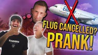 MIAMI FLUG CANCELLED PRANK!
