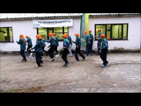 1st Aylesford Scout Group -  Jess Glynne Hold My Hand (Take 1)