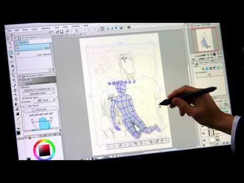 "CLIP STUDIO PAINT Tutorial [English / Spanish / Korean SUB] ""(2) Draft - Frame layout"""