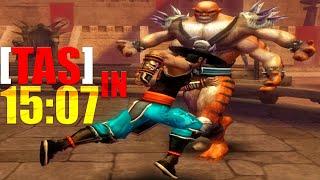 [TAS] Mortal Kombat Shaolin Monks KUNG LAO | IN 15:07 (PS2)
