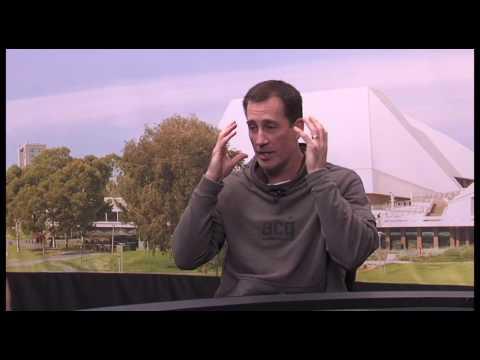 SA Sports Show:  Former Basketballer Brett Maher as a Firey