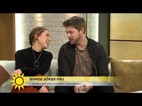Mjölkbonden Susanna och Hannes om första mötet: 'Skapligt stelt' - Nyhetsmorgon (TV4)