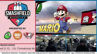 SFW #129 WF: Gooshi|LOE1 (Luigi) vs C9|Ally (Mario)