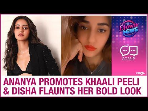 Ananya Panday promotes Khaali Peeli | Disha Patani flaunts her red lipstick hot look & more