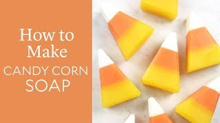 How to Make Candy Corn Soap