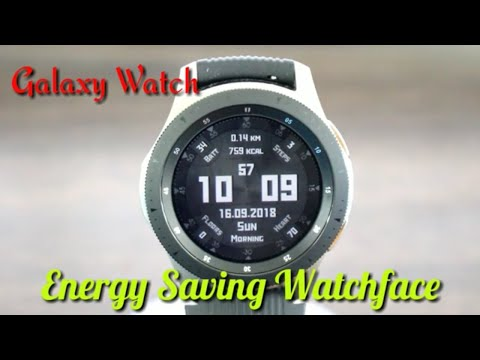 Galaxy Watch/Gear S3 Low Energy Saving Analog/Digital Watch Face Must See Free Free Free