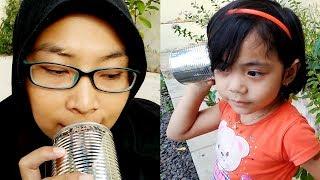 vuclip Bikin Alat Telekomunikasi Telepon Kaleng dari Bahan Sederhana, Mainan Anak Zamannya Bunda