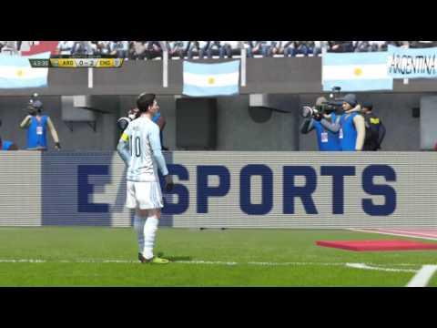 FIFA 16|Freekick goal #4|Jack Wilshere