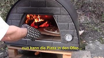 Holzofen Pizzeria Lo Scoglio Feuchtwangen