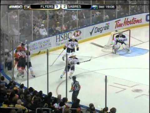 Flyers at Sabres - April 8, 2011
