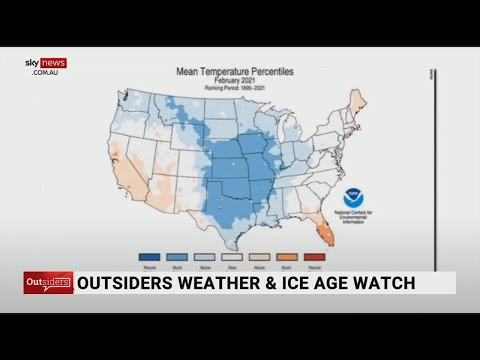 Outsiders Weather and Ice Age Watch: Record freezing temperatures felt across the globe