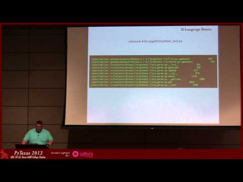 Image from dtrace, python and you