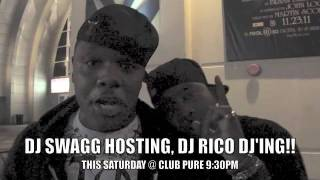 DJ SWAGG & DJ DIRTY RICO TAKE OVA FOR EVERYTHING BUT WHITE PARTY, WATCH!!