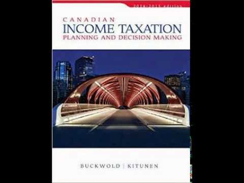 Test Bank for Canadian Income Taxation 2014/2015