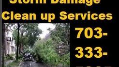 Storm Damage Clean up & Tree Removal Service Arlington, VA | 703-333-5865 Debris Cleanup