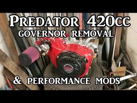 Predator 420cc Performance Mods!