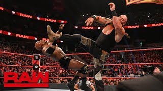 Braun Strowman dismantles Bobby Lashley and Lio Rush: Raw, Feb. 25, 2019