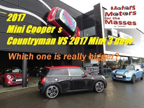 2017/2018 Mini Countryman Is it really bigger than the 3 door