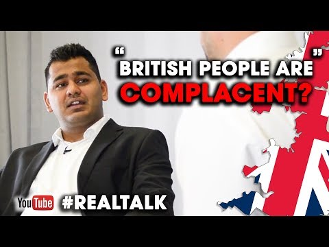 BRITISH PEOPLE ARE COMPLACENT - INTERVIEW W/ Abhishek Jain | Aaron Branch
