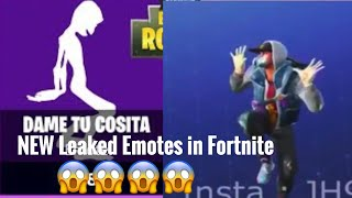 NEW Leaked Fortnite Emotes Including Dame Tu Cosita 😱😱😱😱