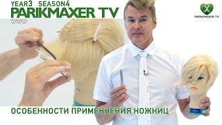 Особенности применнения филировочных ножниц. Вячеслав Дюденко parikmaxer.tv