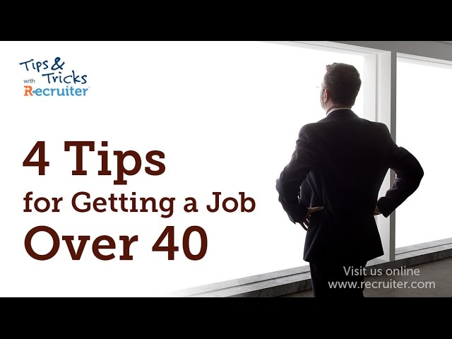 4 Tips For Getting a Job Over 40 - YouTube