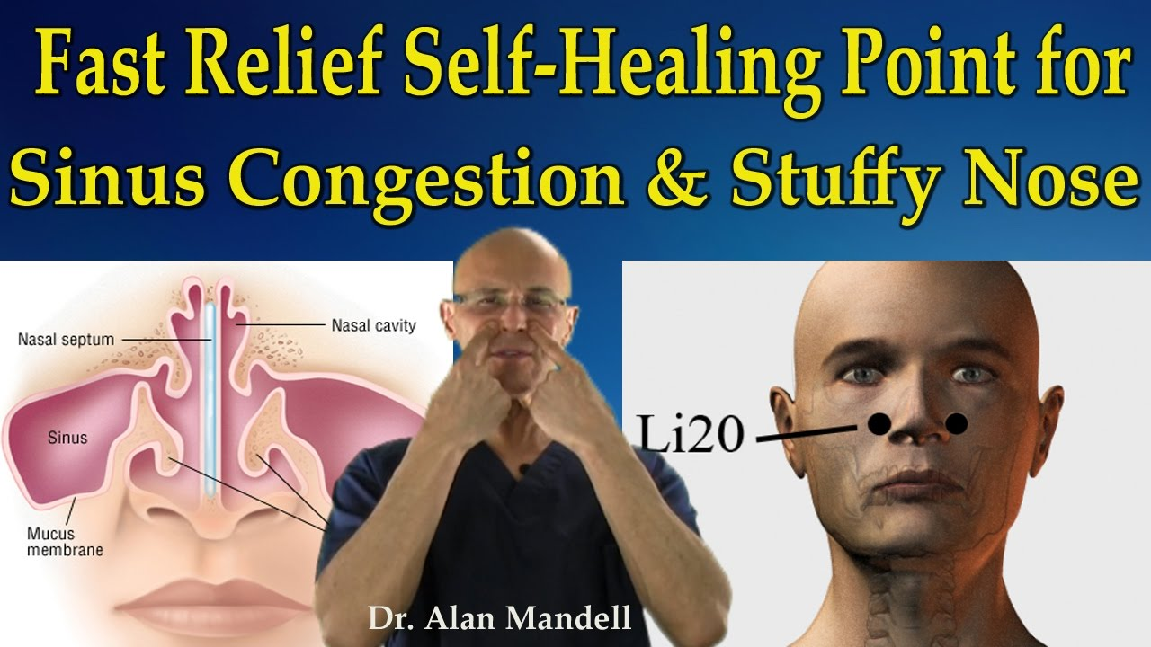Fast Relief Self Healing Point For Sinus Congestion