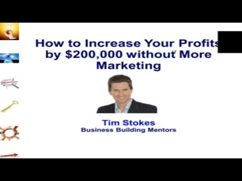 How to Increase Net Profit by $200,000 | Small Business Management | Profitability | Profit Margins