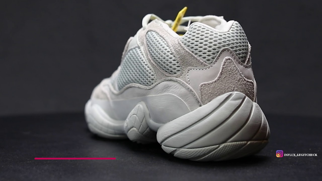 Adidas Yeezy 500 SALT Legit Comparison