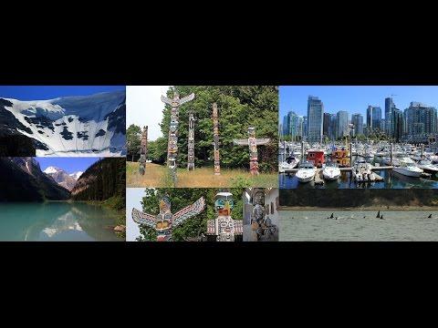 143b. ΔΥΤΙΚΟΣ ΚΑΝΑΔΑΣ-CANADA WEST: Vancouver, Jasper, Rocky Mountains, Banff, Stanley Park