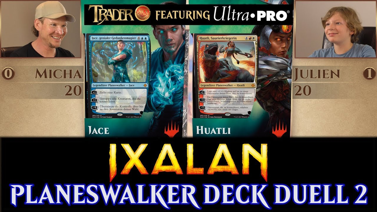 Ixalan Planeswalker Deck Duell 2 deutsch Magic traderonlinevideo MTG ...