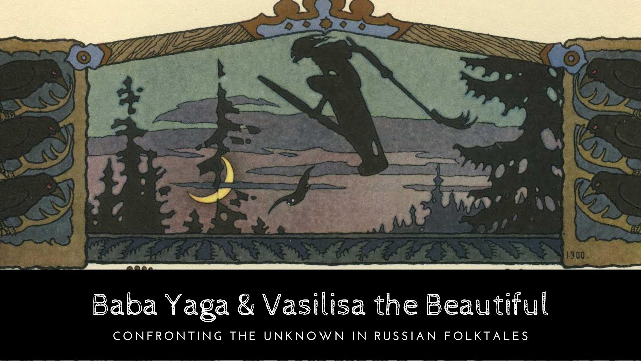 Download Baba Yaga & Vasilisa the Beautiful: Confronting the Unknown in Russian Folktales