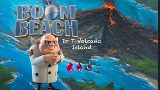 Boom Beach Dr. T Volcano Island Stages 1-7 (23/1/2019)