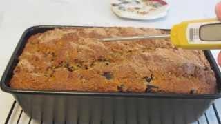 Gluten Free Blueberry Oatmeal Spice Bread