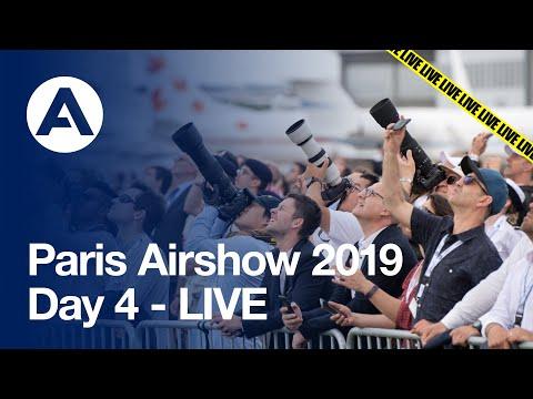 Paris Airshow 2019: Day 4 - LIVE