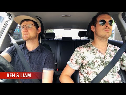 Ben and Liam tune in to Australian radio
