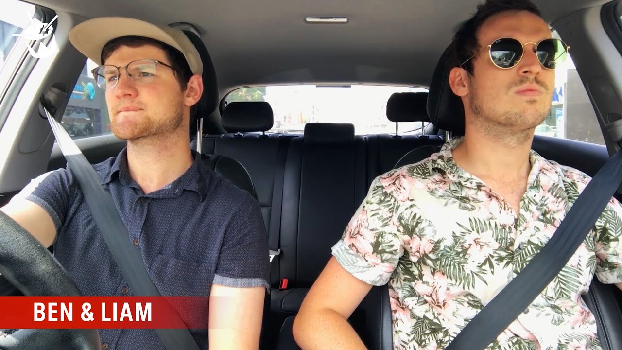 Ben and Liam tune in to Australian radio