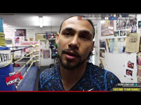 Keith Thurman On Taking Vacation After Garcia Win and Ending up In The UK for Brook vs Spence