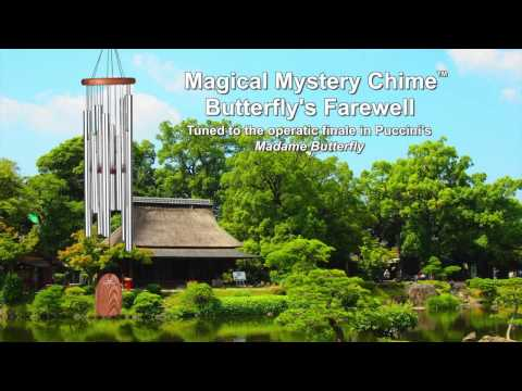 Magical Mystery Chime - Butterfly's Farewell by Woodstock Chimes Thumbnail