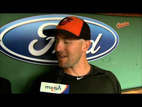 Darren O'Day tells Gary Thorne he would have been a doctor if it wasn't for baseball